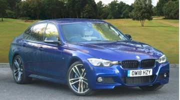 BMW F30 340i M Sport Shadow Edition Saloon Spt Auto