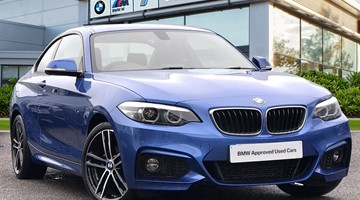 BMW 218d M Sport Coupe - GX68NKC