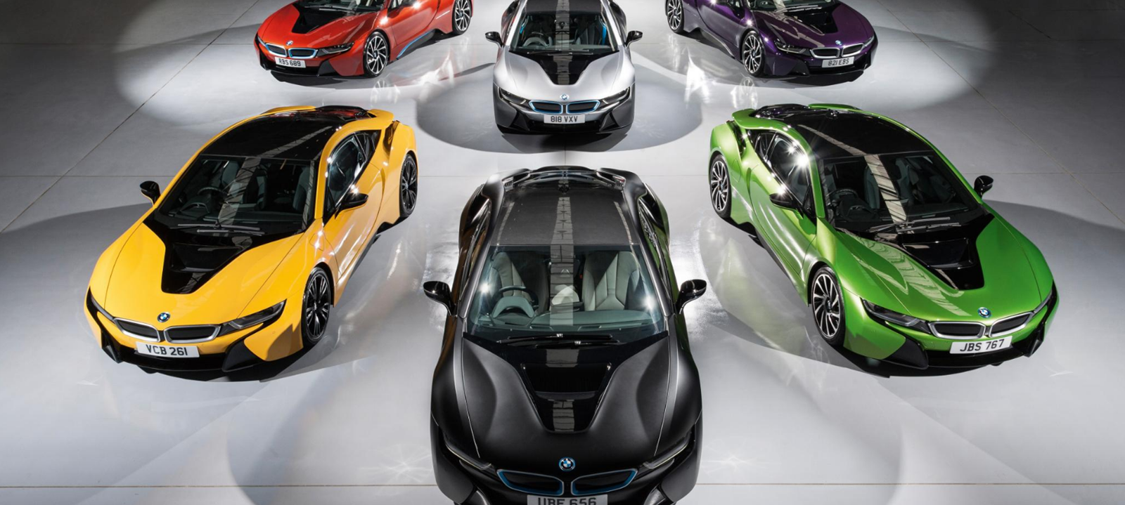 Bmw S New I8 Paint Job Range By Top Gear