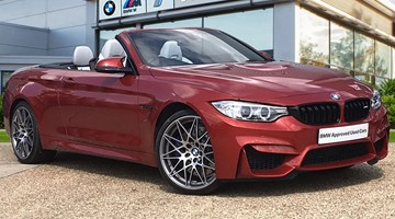 BMW M4 Competition Convertible - GD67BJU