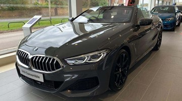 BMW 840i Convertible
