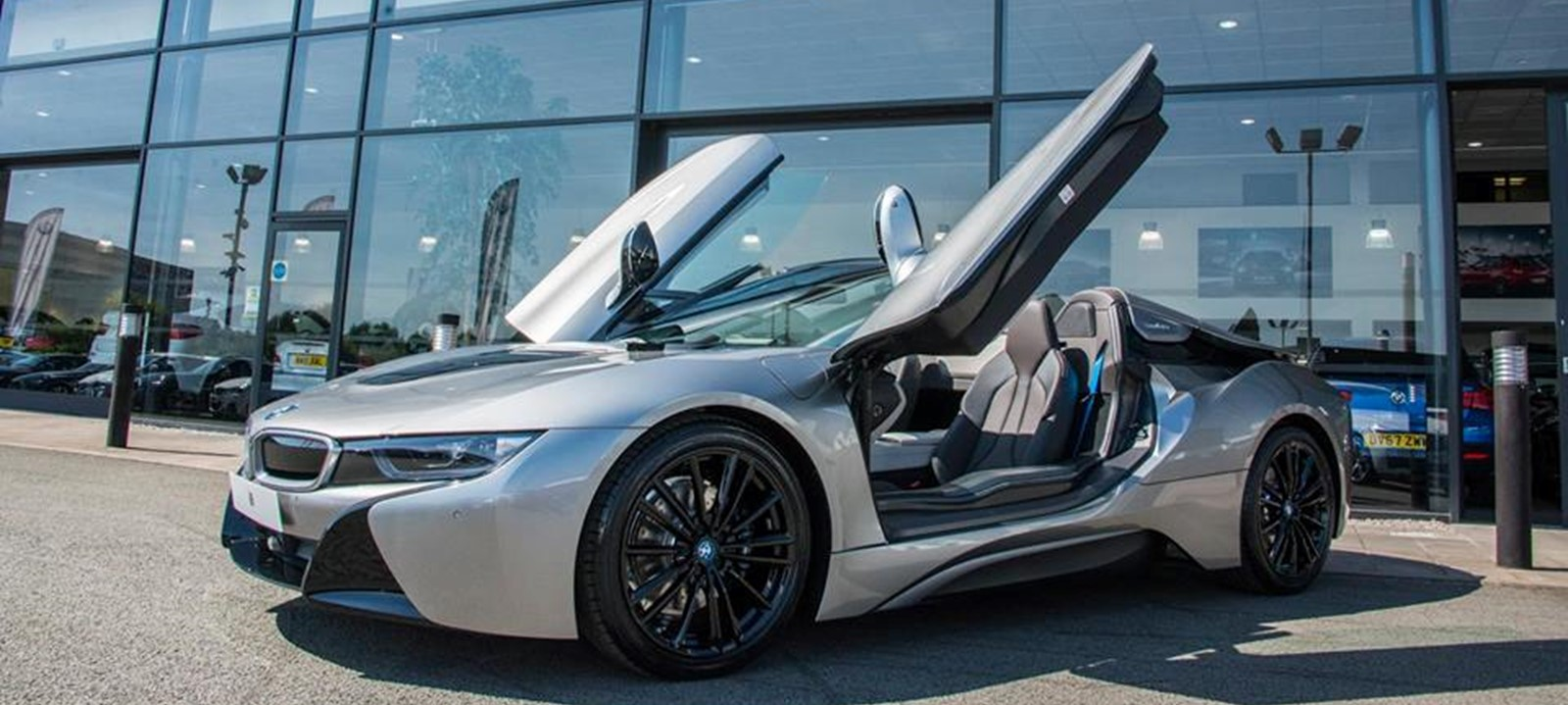 The First Ever Bmw I8 Roadster Is Here