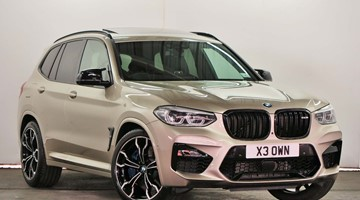 BMW X3 M Competition - RV19KJZ