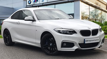 BMW 218d M Sport Coupe - GP19BYD
