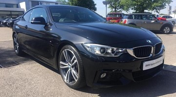 BMW 430d M Sport Coupe YE65EOD